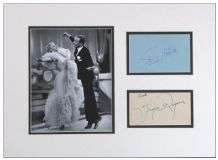 Fred Astaire & Ginger Rogers Autographs